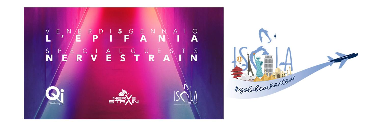Isola Beach On Tour – Qi Clubbing Brescia 05.01.18