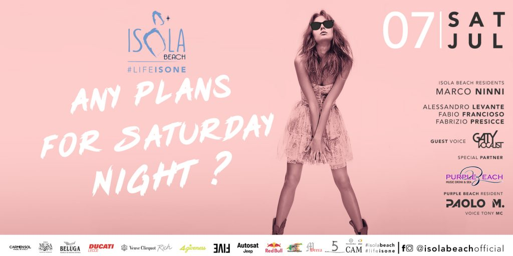 ISOLA BEACH PARTY 07.07.18