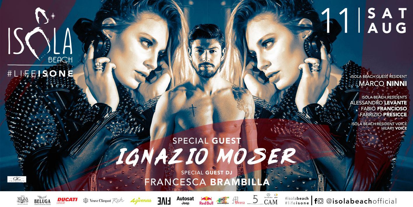IGNAZIO MOSER 11.08.18