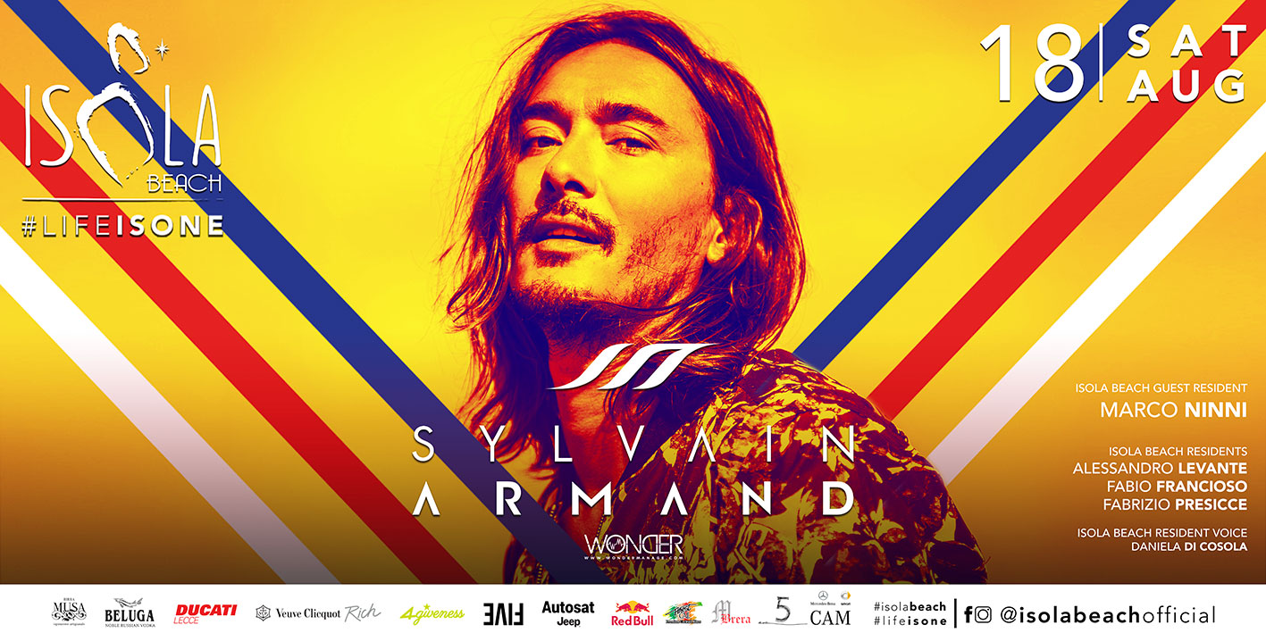 SYLVAIN ARMAND 18.08.18