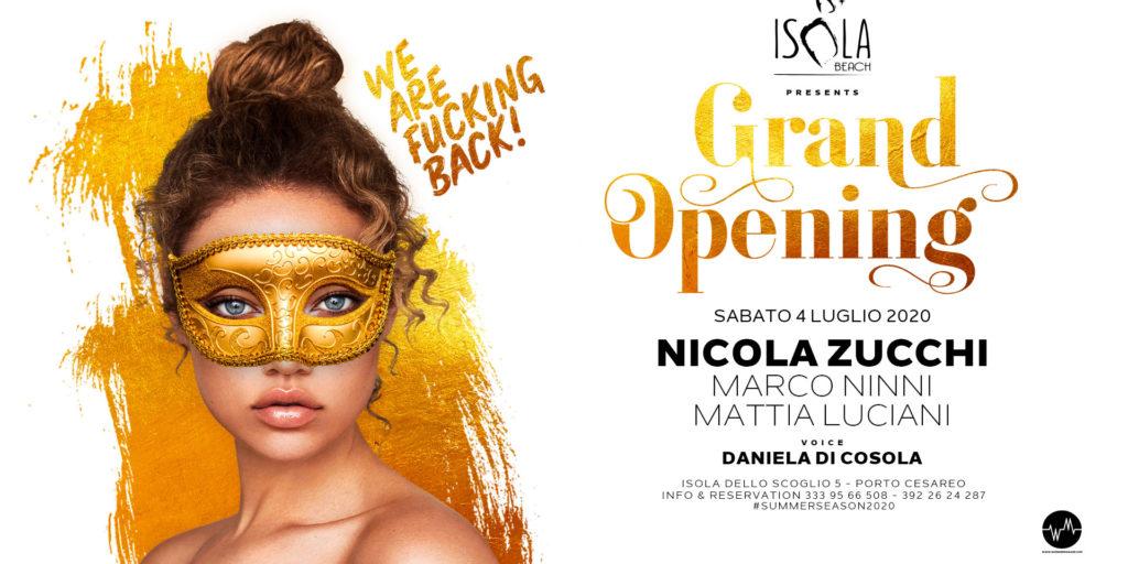 GRAND OPENING ISOLA BEACH | 04.07.20