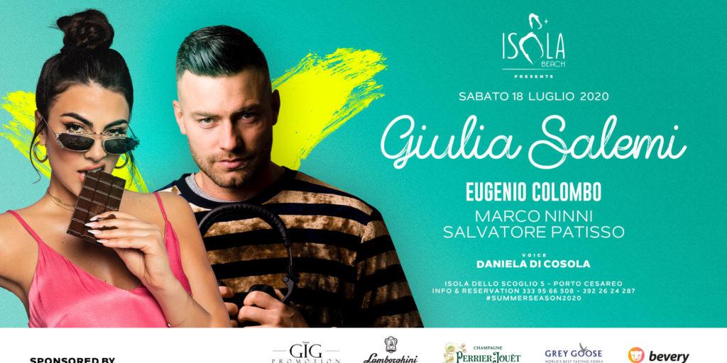 GIULIA SALEMI & EUGENIO COLOMBO | 18.07.20