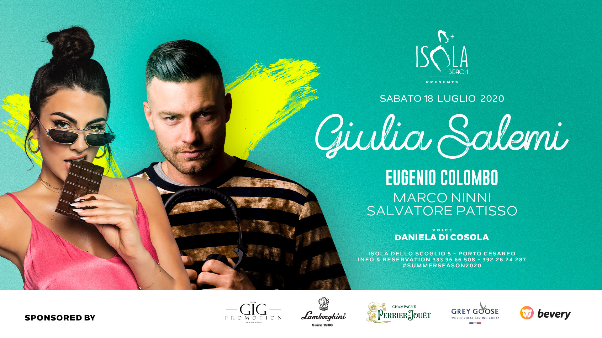 GIULIA SALEMI & EUGENIO COLOMBO | 18.07.20