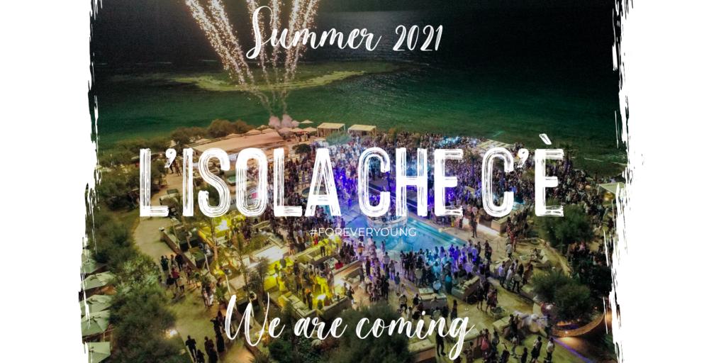 l'ISOLA che c'è | summer 21