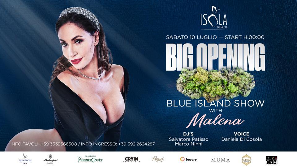 BLU ISLAND SHOW – BIG OPENING | 10.07.21
